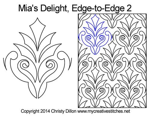 Mia's Delight Edge-to-Edge 2