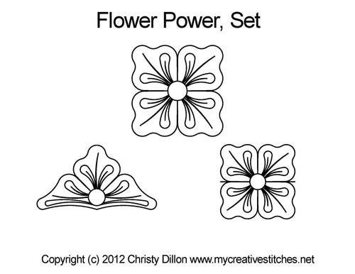 Flower Power Set