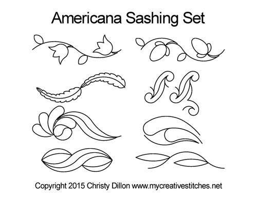 Americana Sashing Set