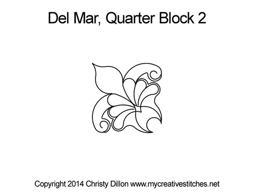 Del mar quarter block 2 quilt patterns