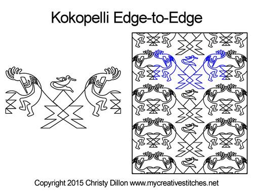 Kokopelli Edge-to-Edge