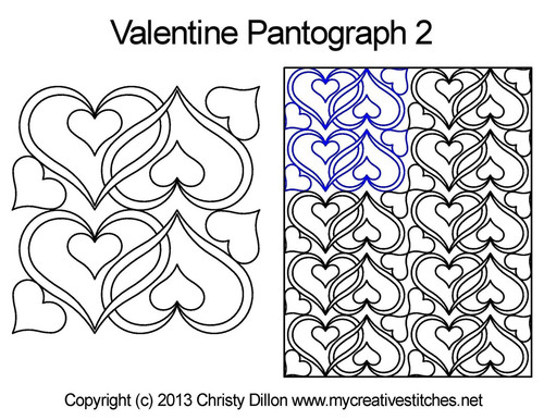Valentine digital pantograph 2