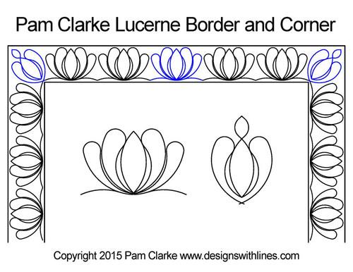 Pam Clarke Lucerne Border and Corner