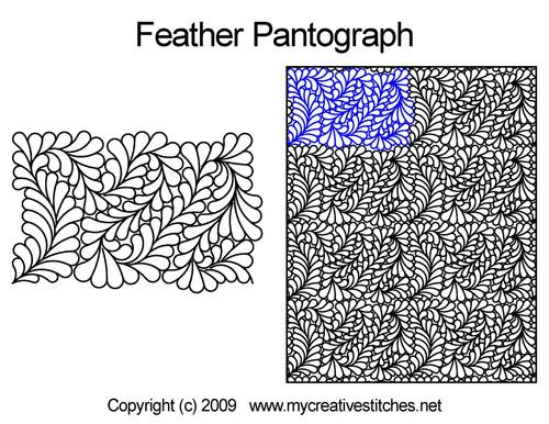 Feather Edge-to-Edge