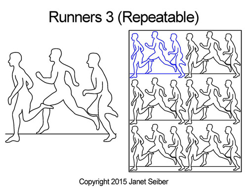 Runners 3 repeatable quilting ideas