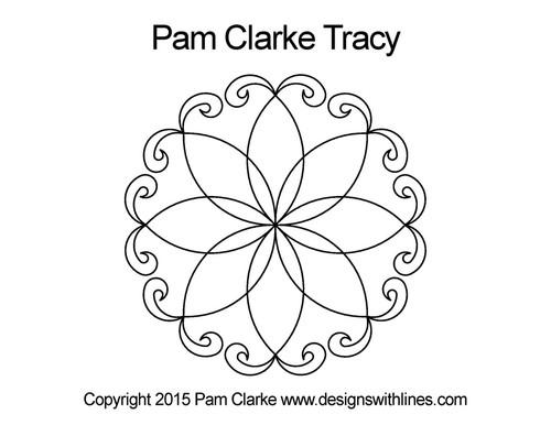 Pam clarke tracy digital quilt design