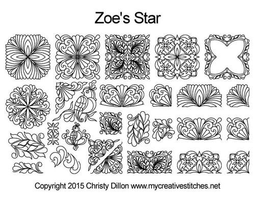Zoe's Star Set (Dec 2015 Mystery Set)
