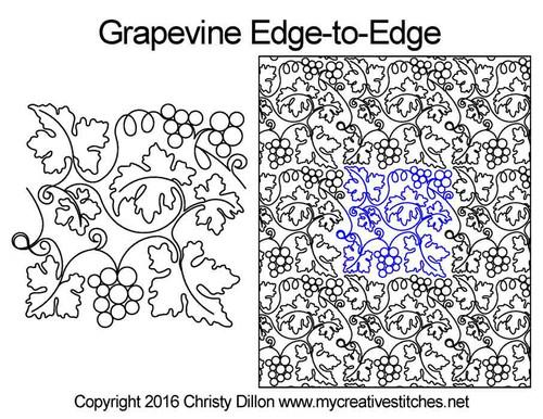Grapevine Edge-to-Edge