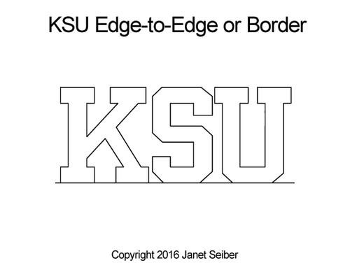 Janet Seiber KSU Edge-to-Edge or Border