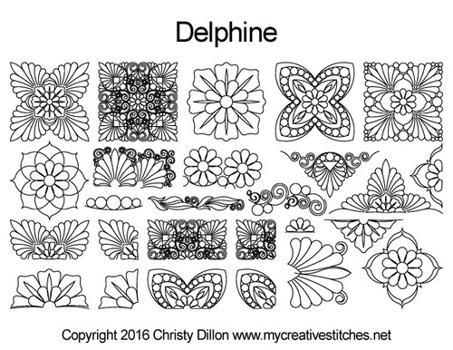 Delphine Set (May 2016 Mystery Set)