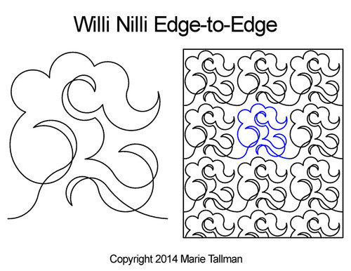 Marie Tallman Willi Nilli Edge-to-Edge