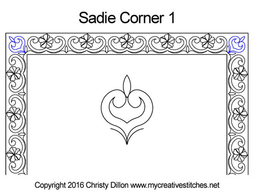 Sadie Border 1 Corner