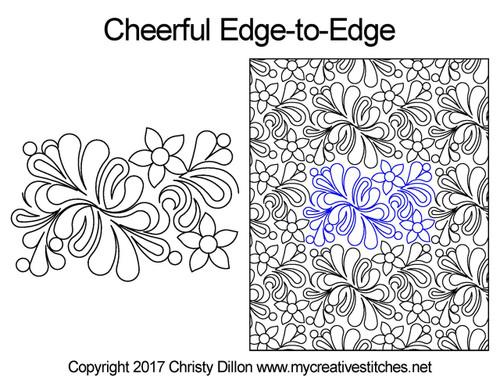 Cheerful Edge-to-Edge