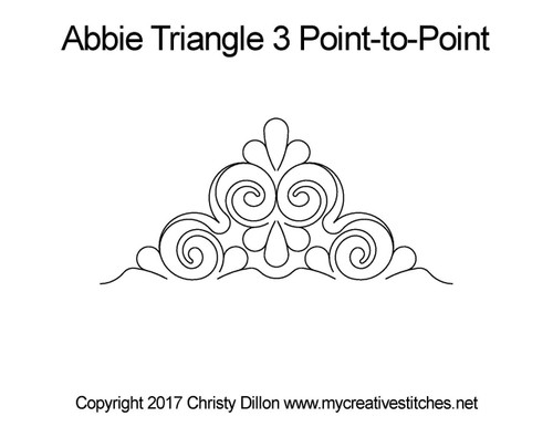 Abbie Triangle 3 Point-to-Point