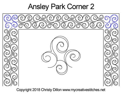 Ansley Park Border 2 Corner