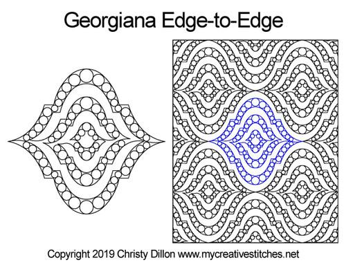 Georgiana Edge-to-Edge