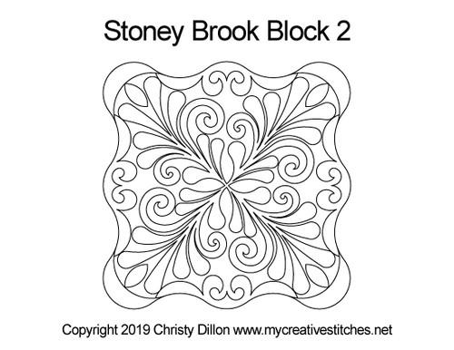 Stoney brook octagon block 2 quilt design