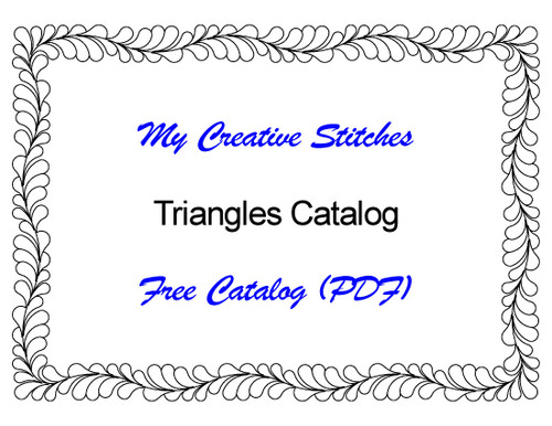 Free Catalog (PDF) for Triangle Patterns
