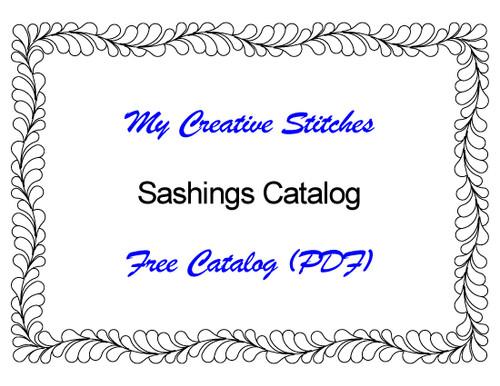 Free Catalog (PDF) for Sashing Patterns