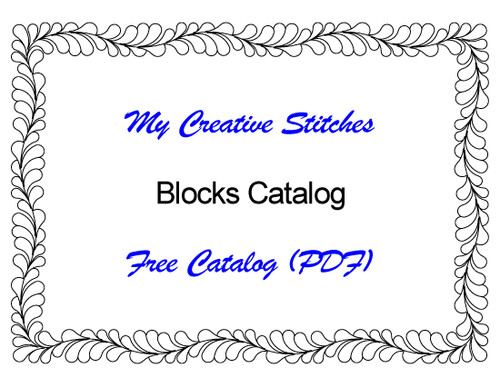 Free Catalog (PDF) for Block Patterns