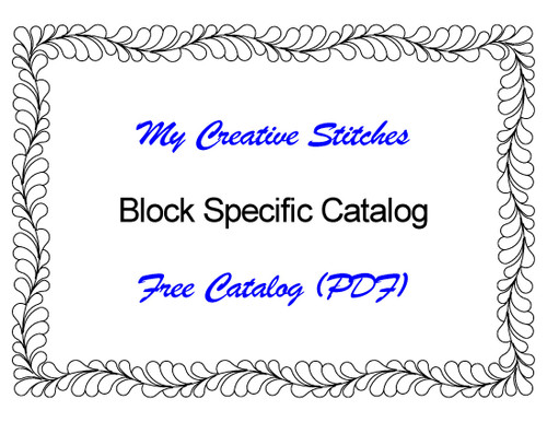 Free Catalog (PDF) for Block Specific Patterns