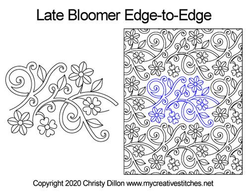 Late Bloomer Edge-to-Edge