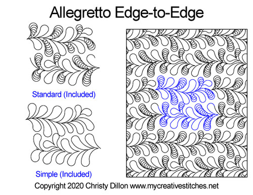 Allegretto Edge-to-Edge