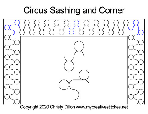 Circus Sashing and Corner