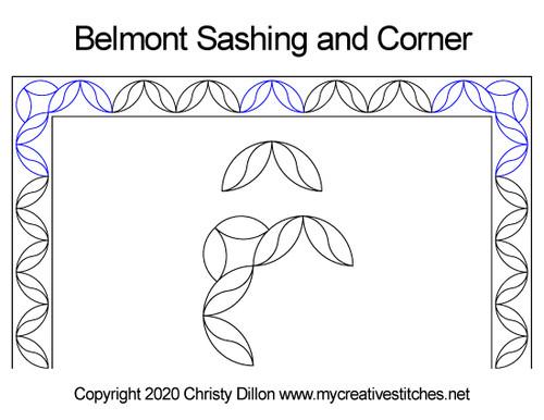 Belmont Sashing and Corner