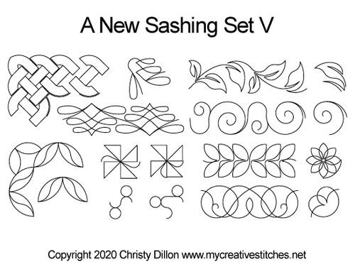 A New Sashing Set V