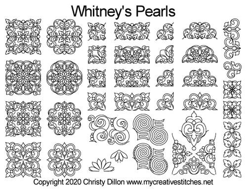 Whitney's Pearls Set Cyber Monday Mystery Set