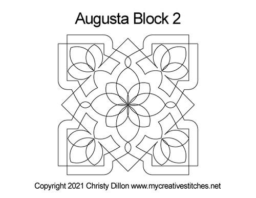 Augusta block quilt pattern