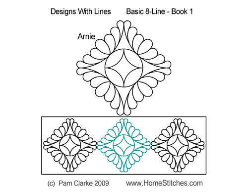 Arnie 8 line computerized quilting