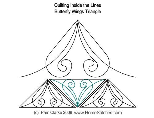 Pam Clarke Butterfly Wings Triangle