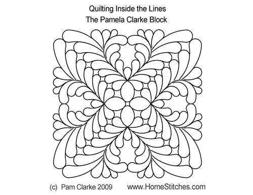 Pamela clarke block quilt design