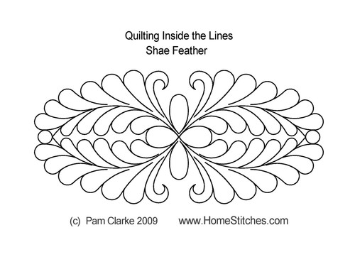 Shae feather quilting inside design