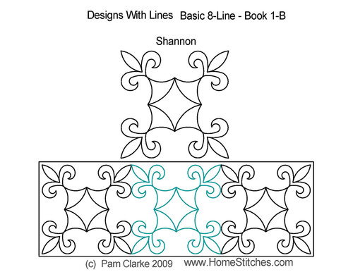 Shannon triangle quilt pattern