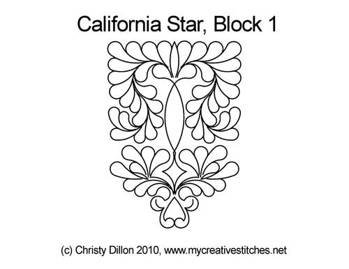 California Star Block 1