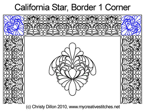 California Star Corner 1