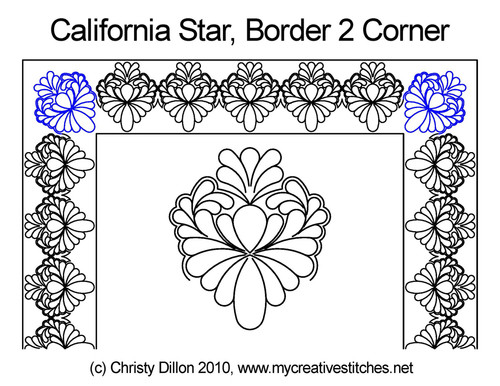 California Star Corner 2