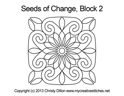 Seeds of Change Block 2