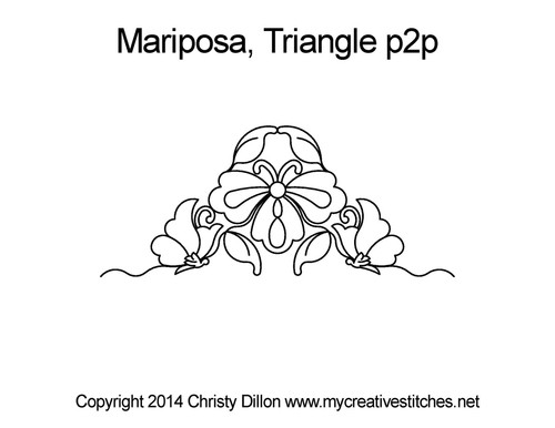 Mariposa Triangle Point-to-Point
