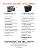 Electric Cigarette Machine Comparison