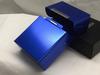Blue  Aluminum Flip Top Box Cigarette Case