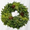 "Noble Mixed 20"" Wreath"