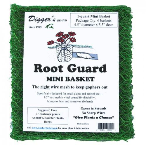 Mini RootGuard Heavy Duty Gopher Wire Baskets (B006)