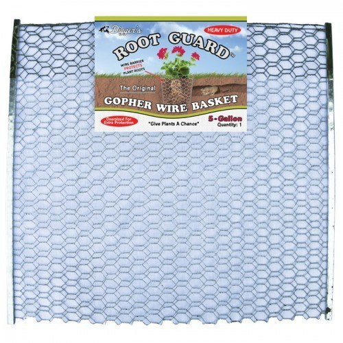 Five Gallon RootGuard Heavy Duty Gopher Wire Baskets