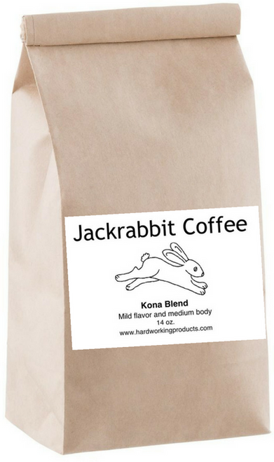 Mild flavor and medium body Kona blend. A smooth and sweet cup of coffee.