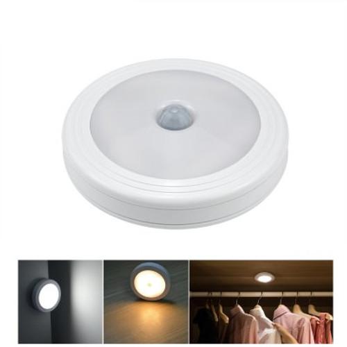Motion Sensor LED Night Light - Round or Square