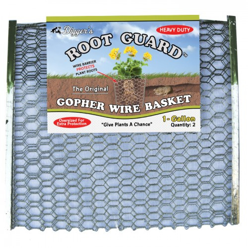 1-Gallon RootGuard Heavy Duty Gopher Wire Basket